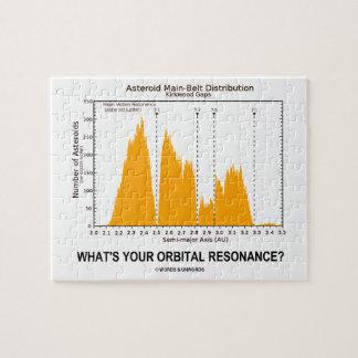What's Your Orbital Resonance? (Astronomy Humor) Puzzle