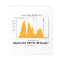 What's Your Orbital Resonance? (Astronomy Humor) Scratch Pads