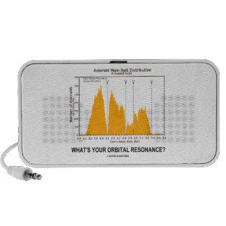 What's Your Orbital Resonance? (Astronomy Humor) Mp3 Speakers