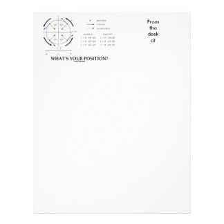 What's Your Position? (Angular Momentum) Letterhead Template