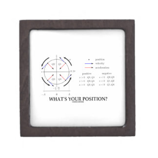 What's Your Position? (Angular Momentum) Premium Gift Boxes