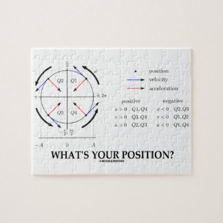 What's Your Position? (Angular Momentum) Puzzles