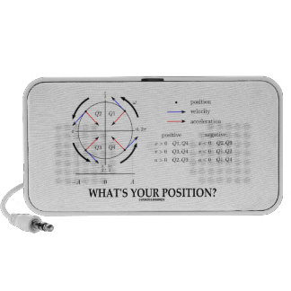 What's Your Position? (Angular Momentum) Notebook Speaker