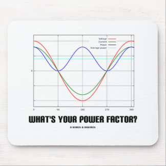 What's Your Power Factor? (Physics) Mouse Pad