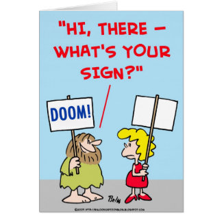 WHAT'S YOUR SIGN CARDS