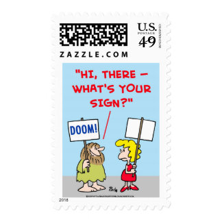 WHAT'S YOUR SIGN POSTAGE STAMPS