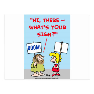 WHAT'S YOUR SIGN POSTCARDS