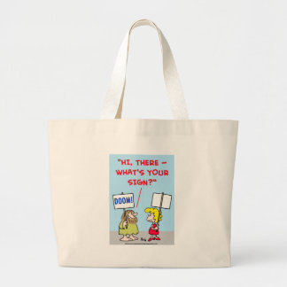 WHAT'S YOUR SIGN TOTE BAGS