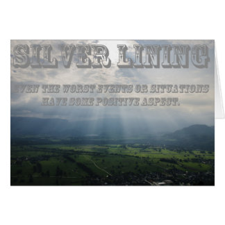 What's Your Silver Lining Greeting Card