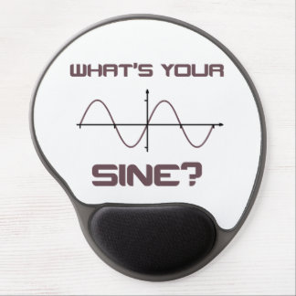 What's Your Sine Nerdy Pick Up Line Gel Mouse Mat
