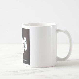 what's your spirit animal? classic white coffee mug