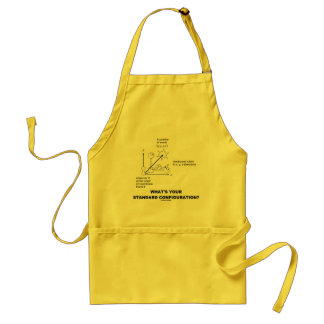 What's Your Standard Configuration? (Physics) Adult Apron