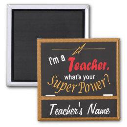 What's Your Super Power?   Teacher Magnet