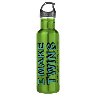 What's Your Superpower? Stainless Steel Water Bottle