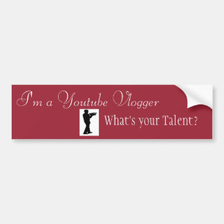 What's Your Talent? Bumper Sticker