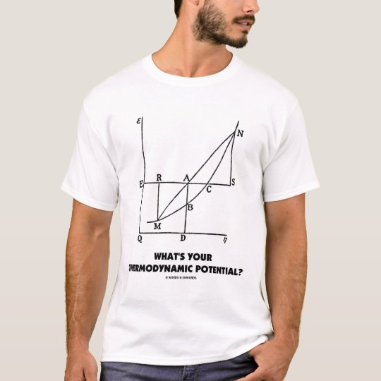 What's Your Thermodynamic Potential? Chem/Physics T-Shirt