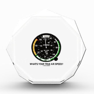 What's Your True Air Speed? Air Speed Indicator Award