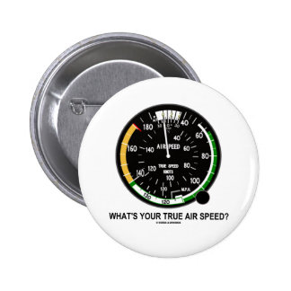 What's Your True Air Speed? Air Speed Indicator Button