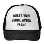 What's your zombie action plan? mesh hat