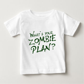 What's Your Zombie Plan? Baby T-Shirt