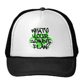 What's Your Zombie Plan? Trucker Hat