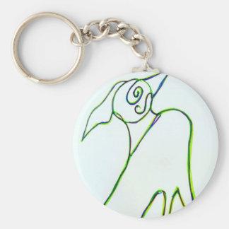 What''sa Birda With York Keychain