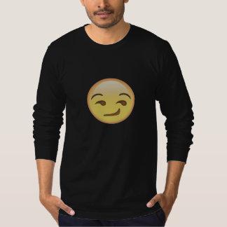 Whatsapp Smirk Sweather black T-Shirt