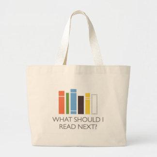 WhatShouldIReadNext.com merchandise Canvas Bag