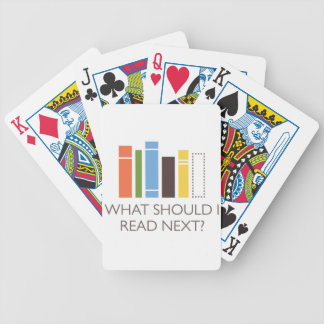 WhatShouldIReadNext.com merchandise Bicycle Playing Cards