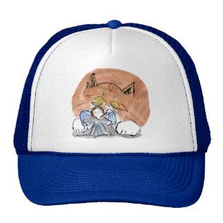 Whatzz this? asks Ruth, the kitten. Trucker Hat