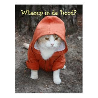 Whazup in da 'hood? post cards