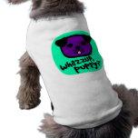 ¿Whazzup, perrito? Con la cara linda del perrito Camisa De Mascota