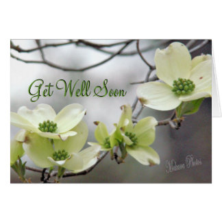 WhDogwood branch--customize any occasion Card