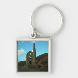 Wheal Coates Mine Cornwall England Keychain