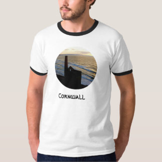 Wheal Coates Tin Mine Ruins Cornwall England T-Shirt