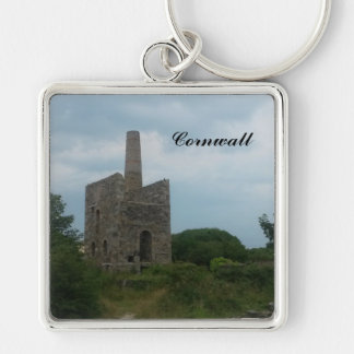Wheal Peevor Cornish Tin Mine Photograph Keychain