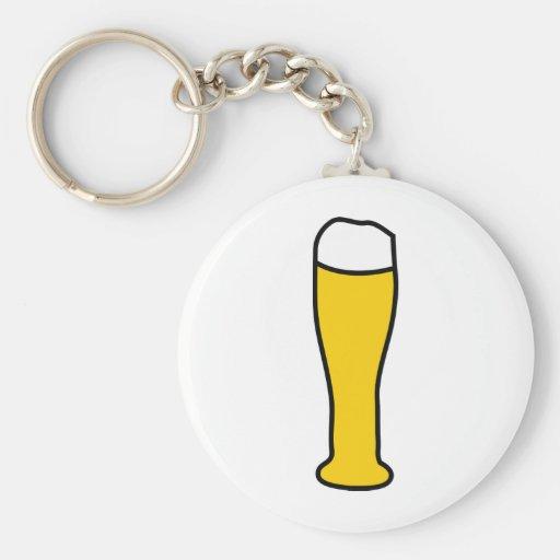 wheat beer octoberfest key chain