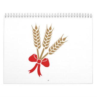 Wheat bow calendar