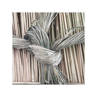 Wheat Bow Canvas Print