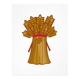 Wheat bundle personalized letterhead