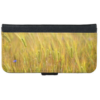 Wheat Crop Zoom In Wallet Phone Case For iPhone 6/6s