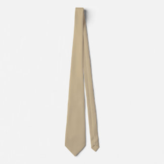 Wheat Double Sided Solid Colored Tie