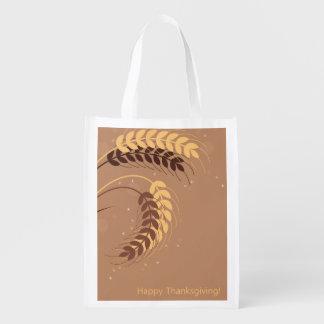 Wheat Ears Reusable Grocery Bag
