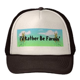 Wheat Farming Farmers Crops Hats