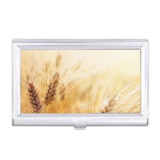 Wheat field business card case