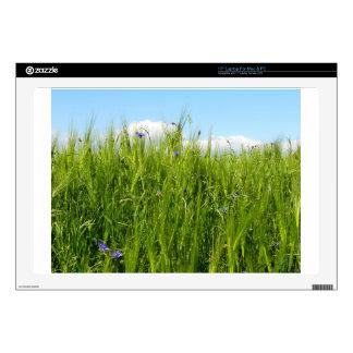 Wheat field in spring / Weizenfeld Skin For Laptop