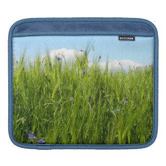Wheat field in spring / Weizenfeld Sleeve For iPads