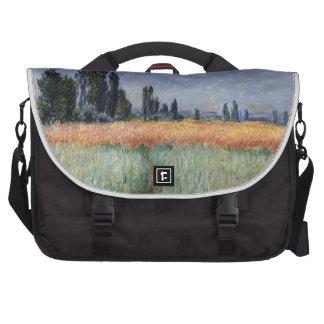 Wheat field laptop computer bag