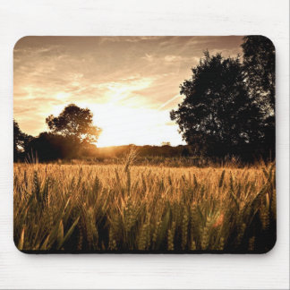 WHEAT FIELD MOUSE PAD