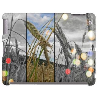 Wheat Field Sparkle iPad case